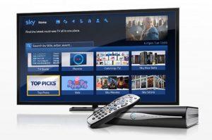 TV SKY television units