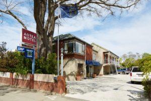 Aotea motel in Christchurch